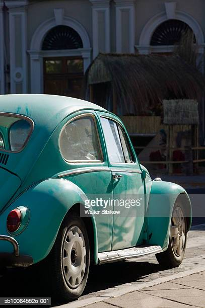 Old Volkswagen Beetle car, Colima, Mexico