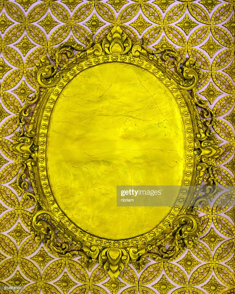 Old Wall Background Gold Color Stock Photo | Getty Images