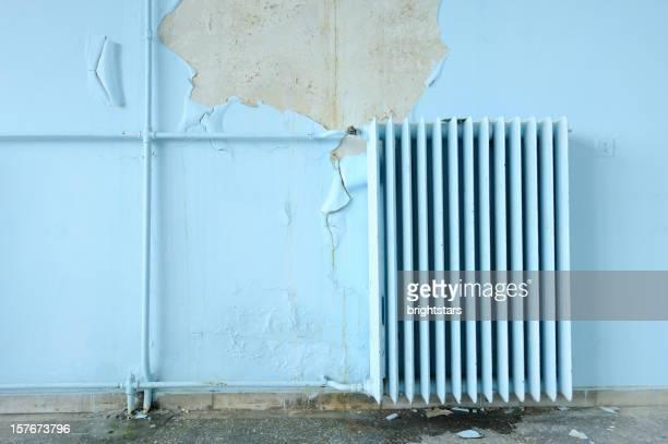 Old wall radiator