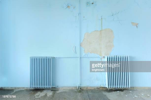 Old wall radiators
