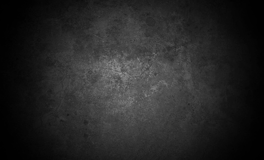 Old wall texture cement dark black gray  background abstract grey color design are light with white gradient background. 1191995863