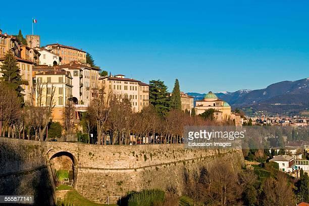 Old Walls Bergamo Italy