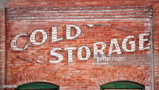 old warehouse building - freezer stock photos and pictures