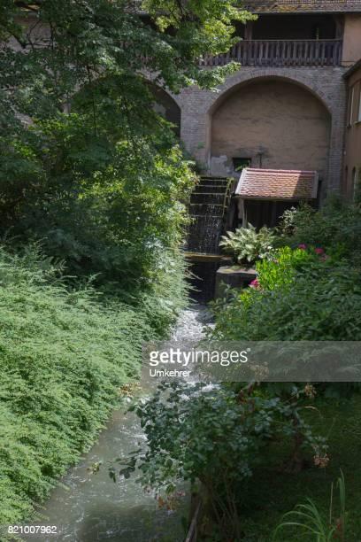 old wasser mill - umkehrer stock-fotos und bilder