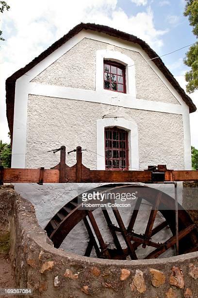 Old watermill in cape winelands