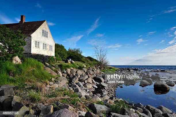 Old watermill on Bornholm island