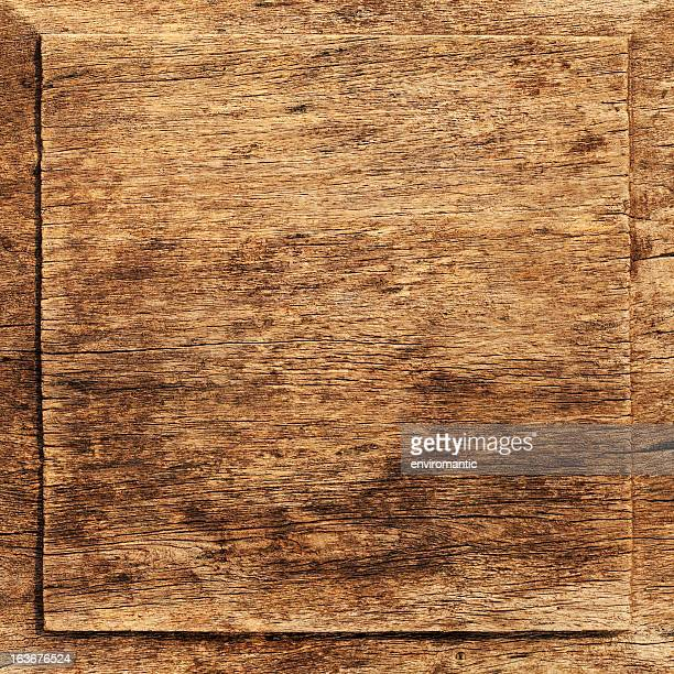old weathered wood board background. - teak wood material stock pictures, royalty-free photos & images