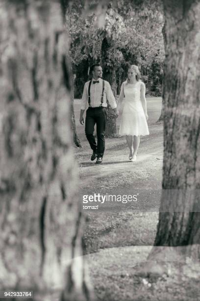 old wedding photo - marriage stock pictures, royalty-free photos & images