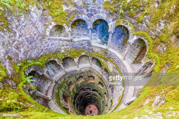 old well - sintra stock pictures, royalty-free photos & images