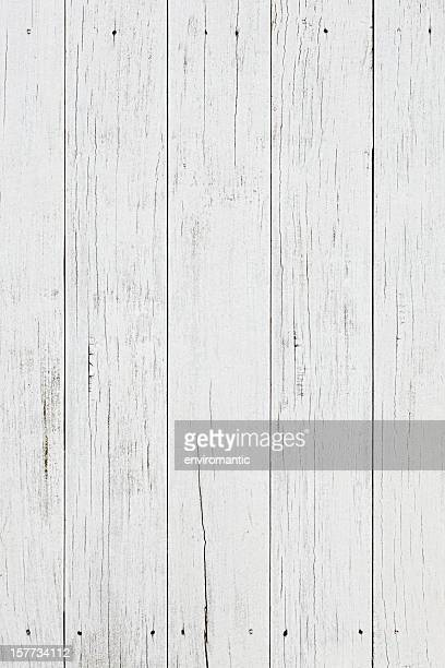 Old white wooden board background.