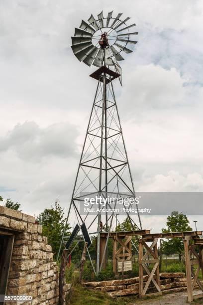 Old Windmill Kansas