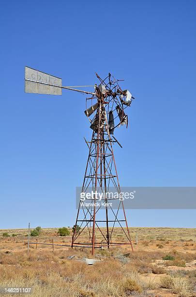 Old windmill .