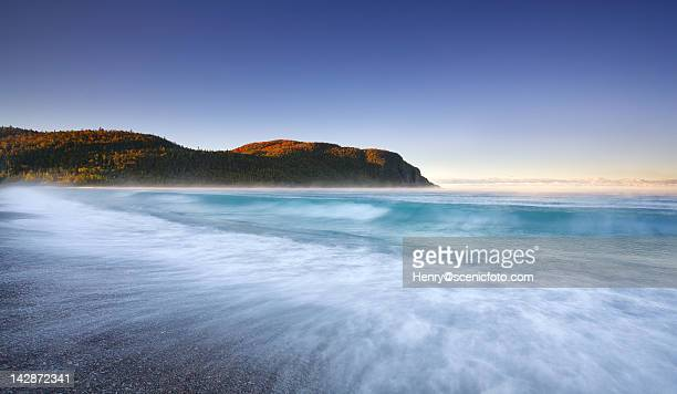 old woman bay - lake superior provincial park stock pictures, royalty-free photos & images