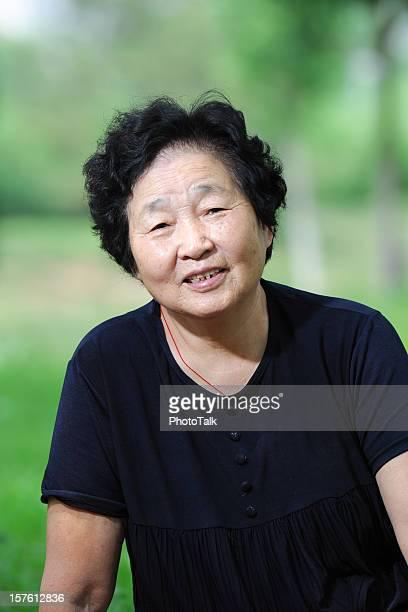 Portrait de la vieille femme