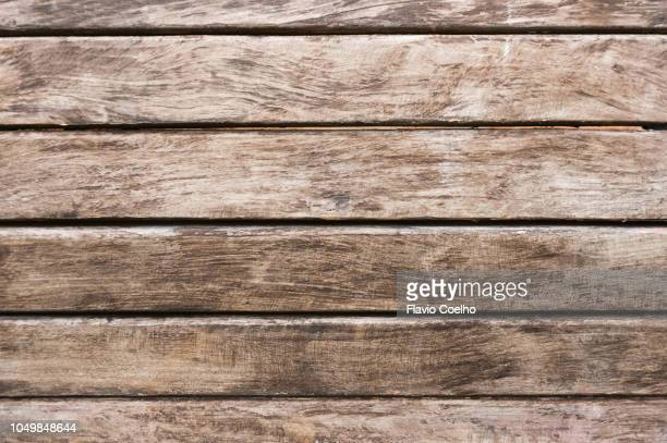 old wooden bench seat close-up - bench stock pictures, royalty-free photos & images