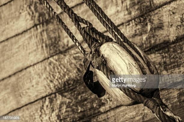 Ancien bloc de bois