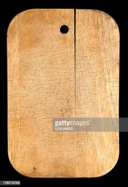 old wooden chopping board - cutting board stock pictures, royalty-free photos & images