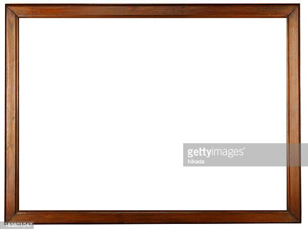 old wooden frame - frame stock pictures, royalty-free photos & images