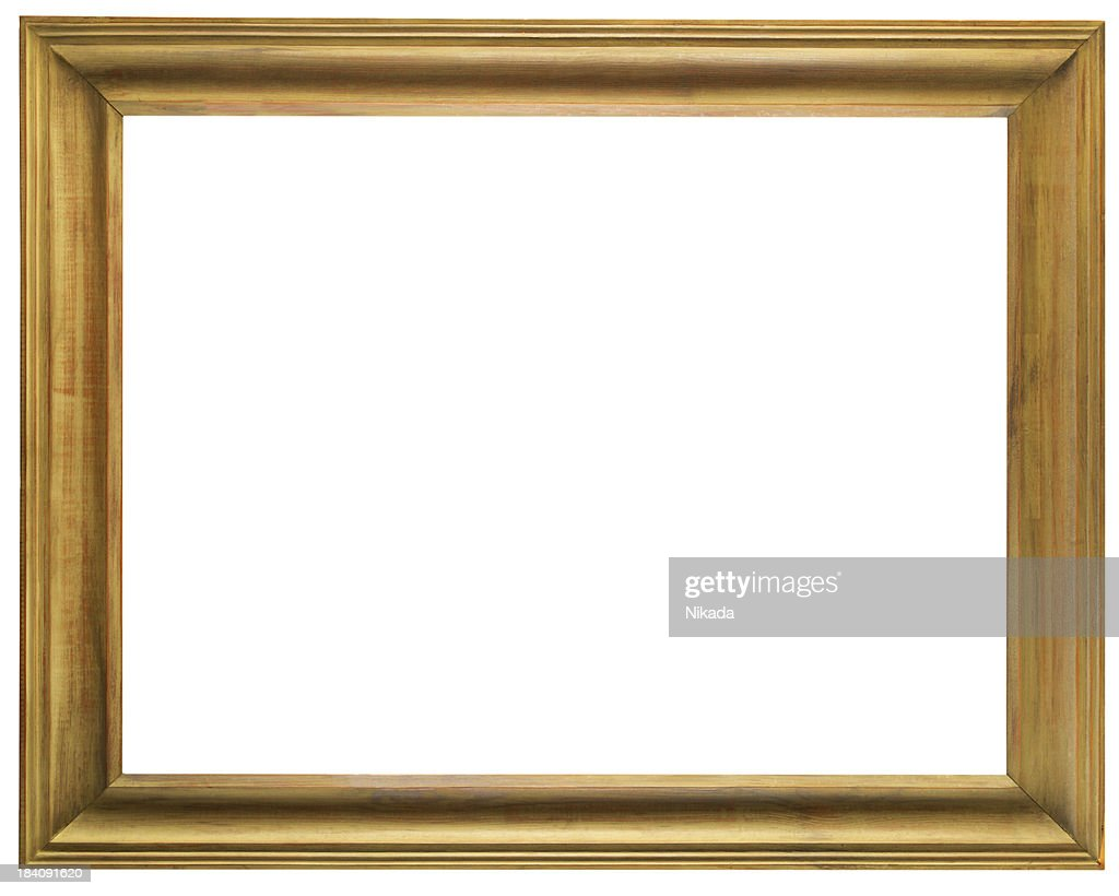 Old Wooden Frame Stock Photo | Getty Images