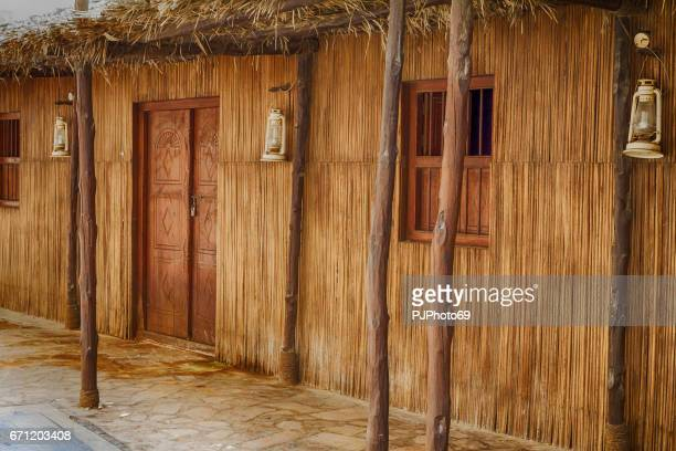 Altes Holzhaus in Dubai - Bastakiah Nachbarschaft