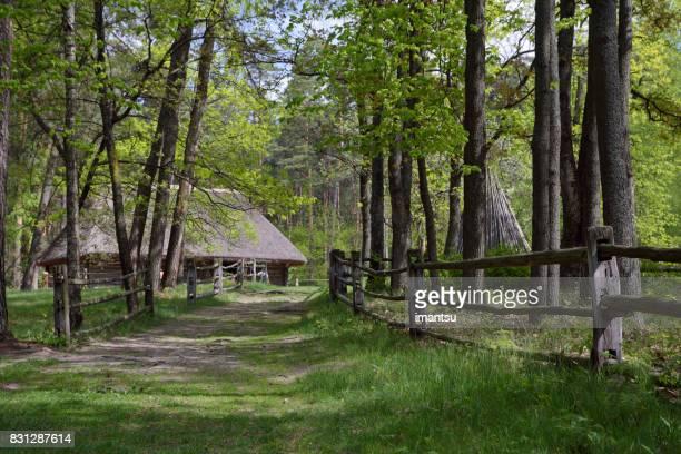 Oude houten huis