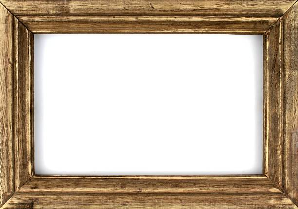 old wooden picture frame - Wood Picture Frame