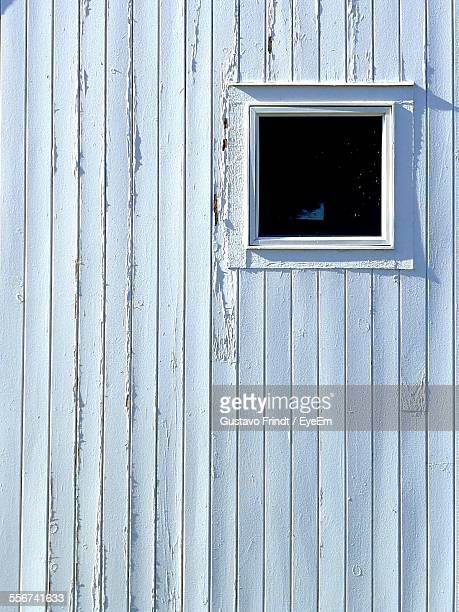 Old Wooden Wall With Window