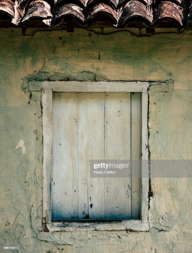 Old wooden window : Stock Photo