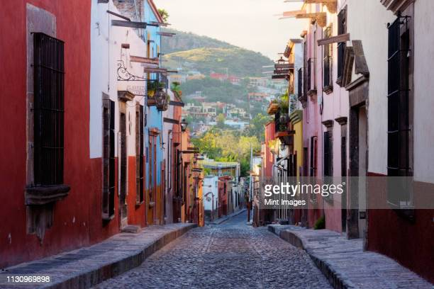 old world street - guanajuato stock pictures, royalty-free photos & images