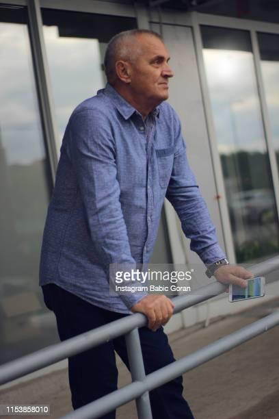 Older age businessman
