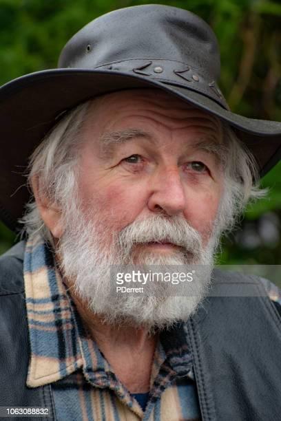 Older Australian archetypal male.