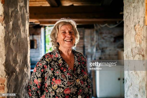 older but wiser and happier than ever before - one senior woman only stock pictures, royalty-free photos & images
