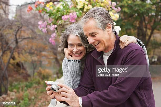 older couple taking picture - health2010 ストックフォトと画像