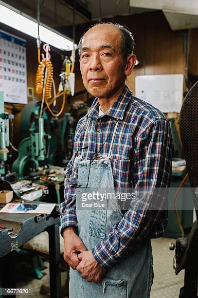 Older Japanese Machinist