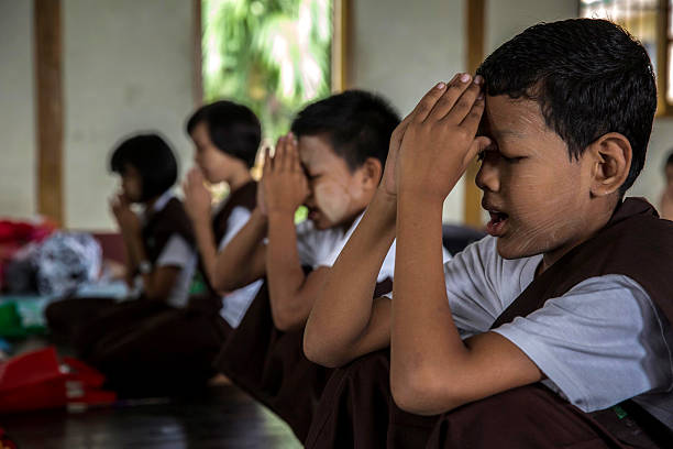 Myanmar's Hard-Line Buddhist Monks Head To The Classrooms