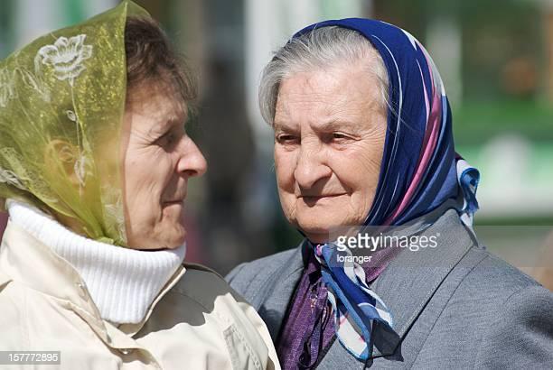 older women - babushka stock pictures, royalty-free photos & images