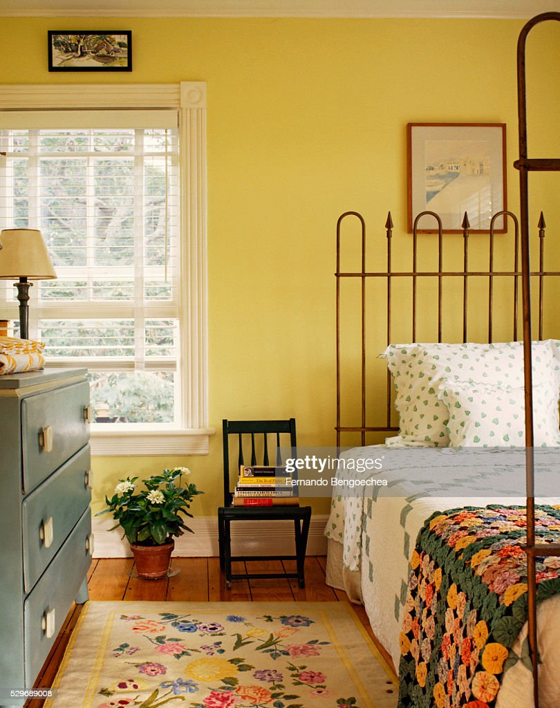 Oldfashioned Bedroom Stock Photo | Getty Images