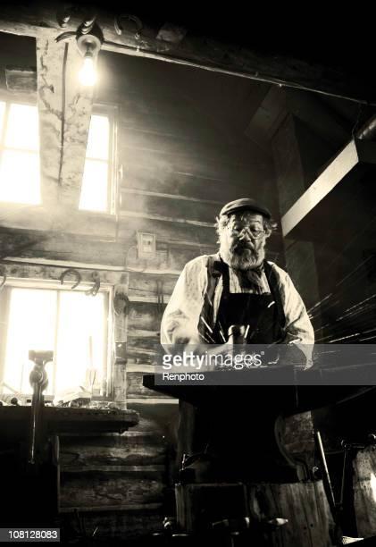 Old-Fashioned Blacksmith