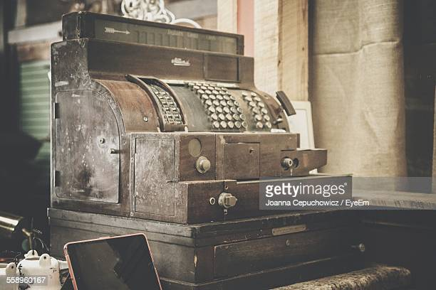 Old-Fashioned Cash Register