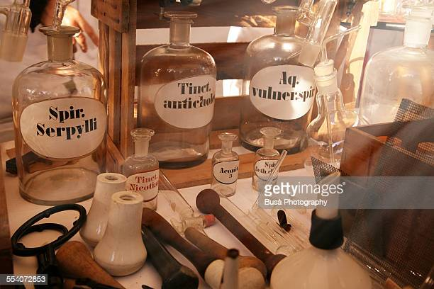 Old-fashioned chemical equipment