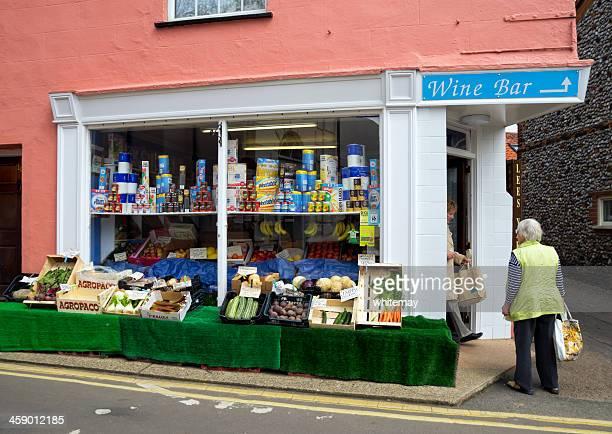 Old-fashioned corner shop
