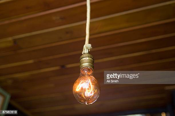 Old-fashioned lightbulb