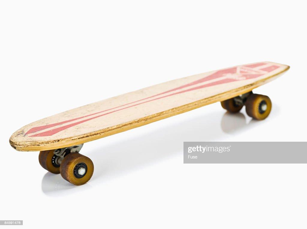 Old-Fashioned Skateboard : Stock Photo