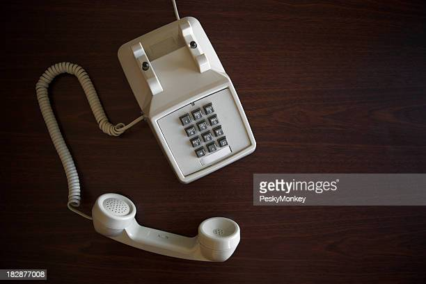 Old-Fashioned Telephone Off The Hook