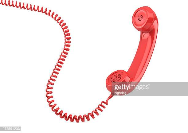 old-fashioned  telephone receiver - off stock pictures, royalty-free photos & images