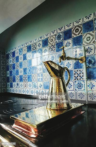Old-Fashioned Water Jug In Kitchen