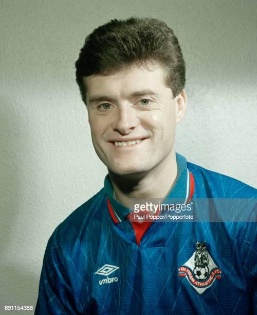 Oldham Athletic footballer Frankie Bunn circa April 1990