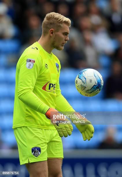 Oldham Athletic goalkeeper Connor Ripley