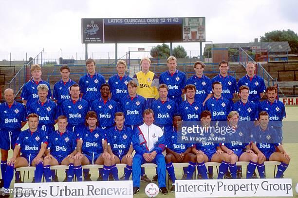 Chris Halstead Jason Fisk Ian Thompstone John Smith Jon Hallworth Andy Holden Steve Morgan Chris Blundell Andy Ritchie coach Billy Urmson kit manager...