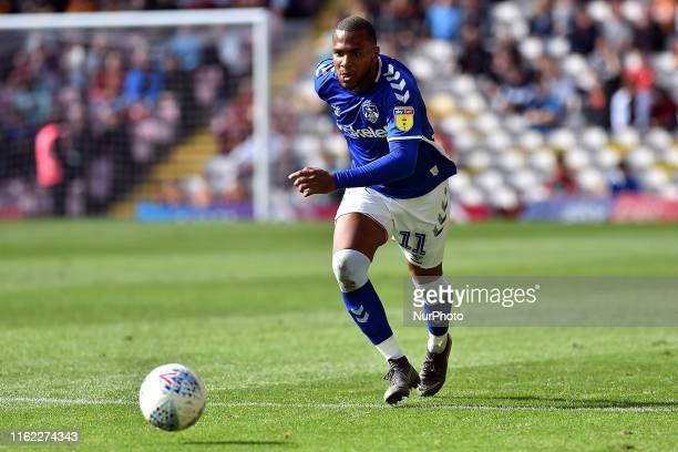 Oldham Athletic's Gevaro Nepomuceno in action during the Sky Bet League 2 match between Bradford City and Oldham Athletic at the Coral Windows...
